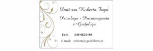Psicologa psicoterapeuta e grafologa Roberta Fuga