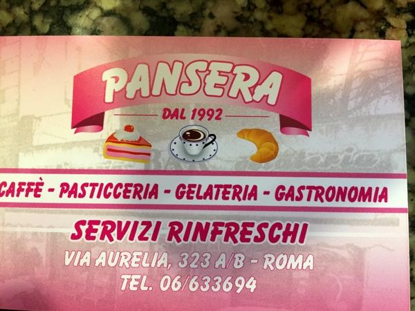Pasticceria Pansera